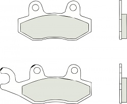 BREMBO Braking Pads Front Carbon-Ceramic YAMAHA YFM RY, LEFT/REAR 700 2009 - 07YA2106