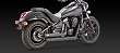 VANCE & HINES TWIN SLASH STAGGERED BL...
